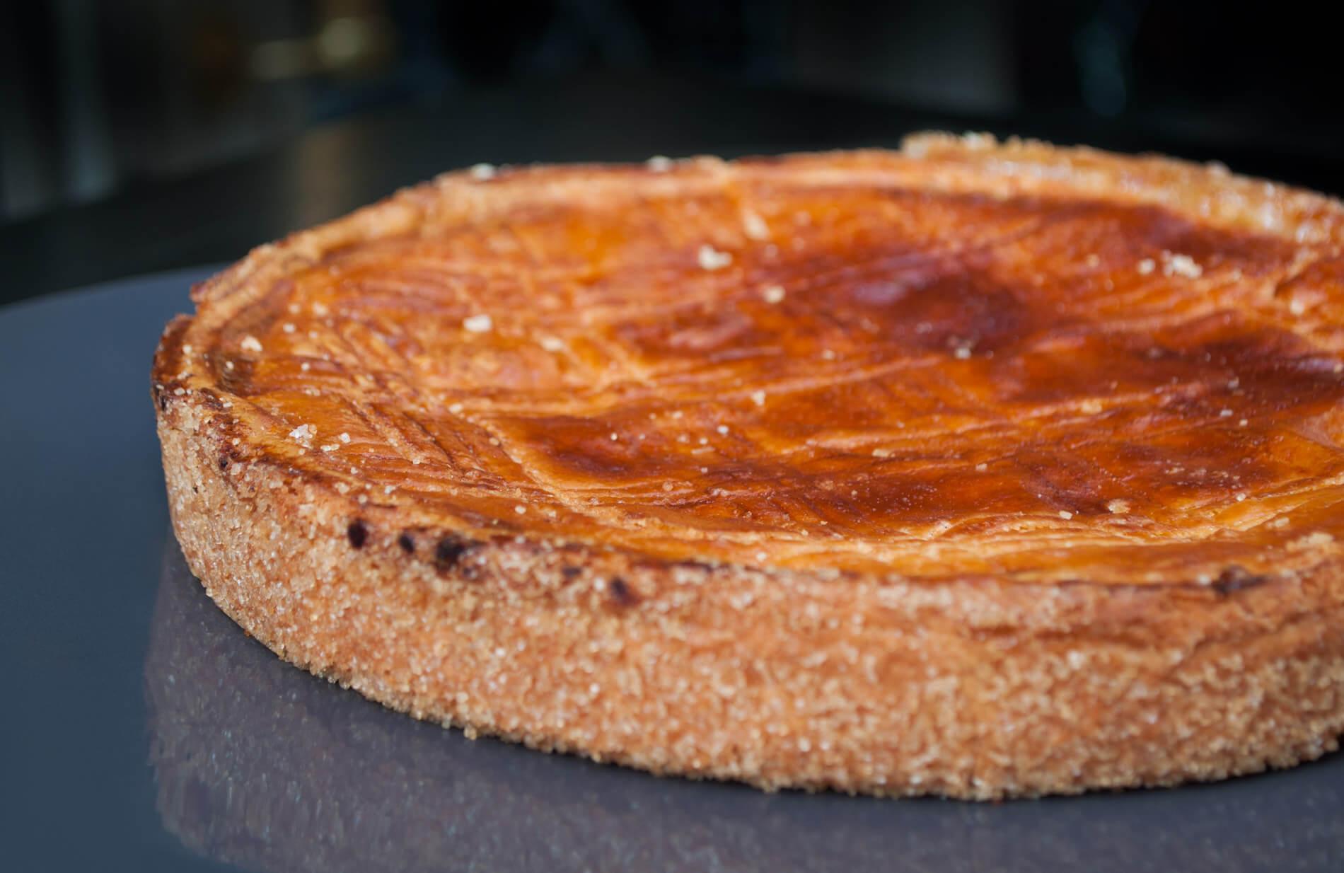 Pottoka, le restaurant parisien de Sébastien Gravé : le gâteau basque