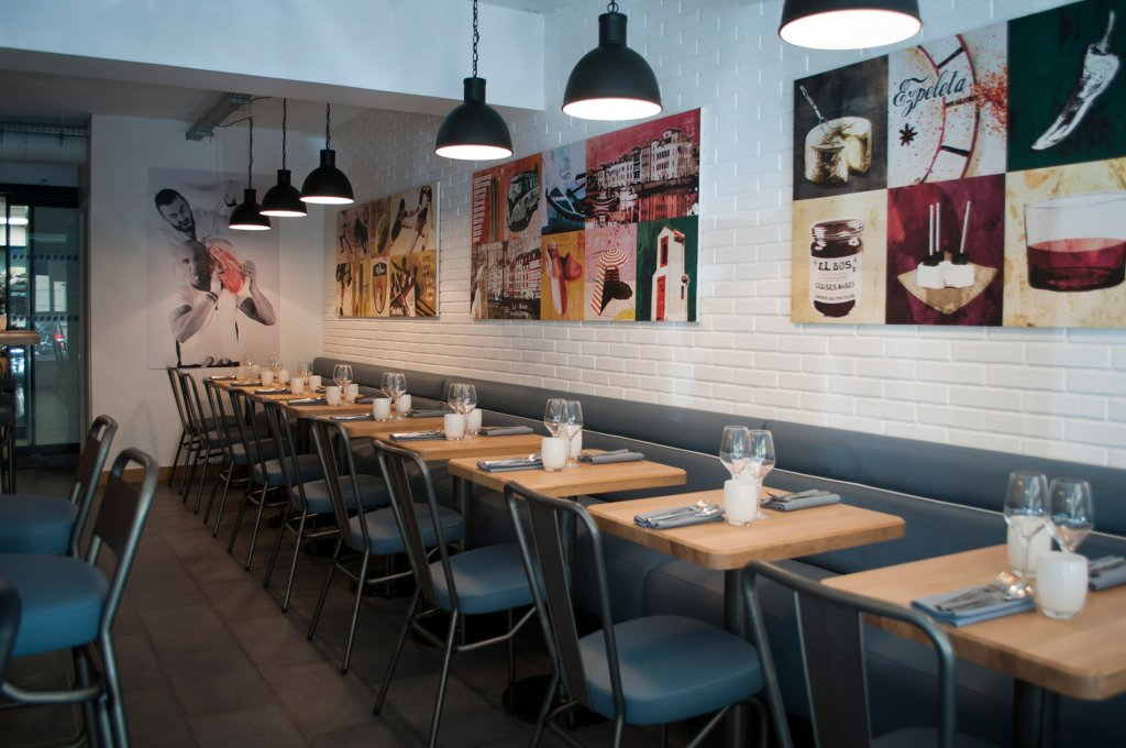 Atmosphère chaleureuse, un point essentiel chez Pottoka, le restaurant parisien de Sébastien Gravé
